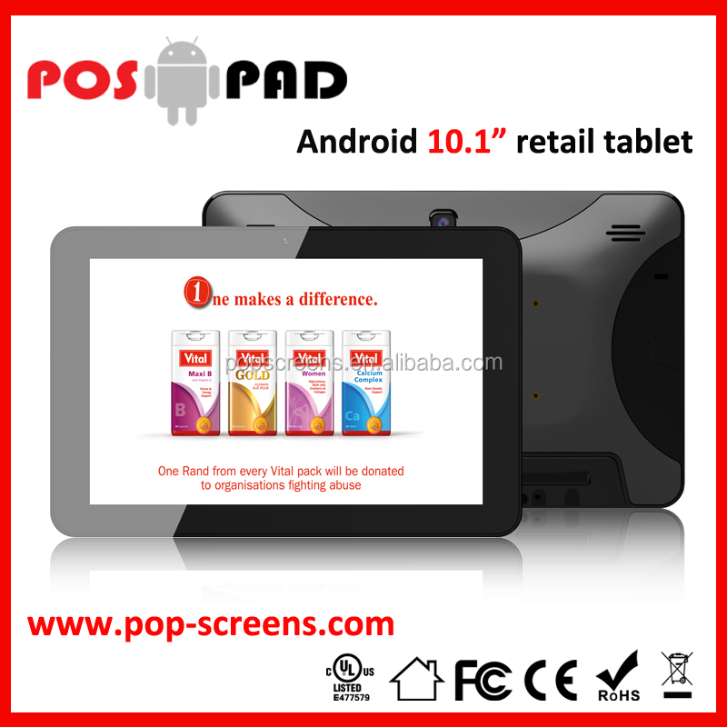 "Android smart tablet pc POSPAD 10.1"" PD101T Android Industrial Tablet PC"