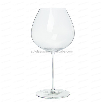 Balloon Crystal Red Wine Gl With Large Bowl Perfect For Chardonnay