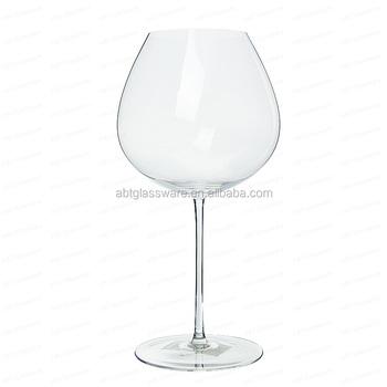 gros ballon en cristal verre vin rouge avec grand bol parfait pour chardonnay buy grand. Black Bedroom Furniture Sets. Home Design Ideas