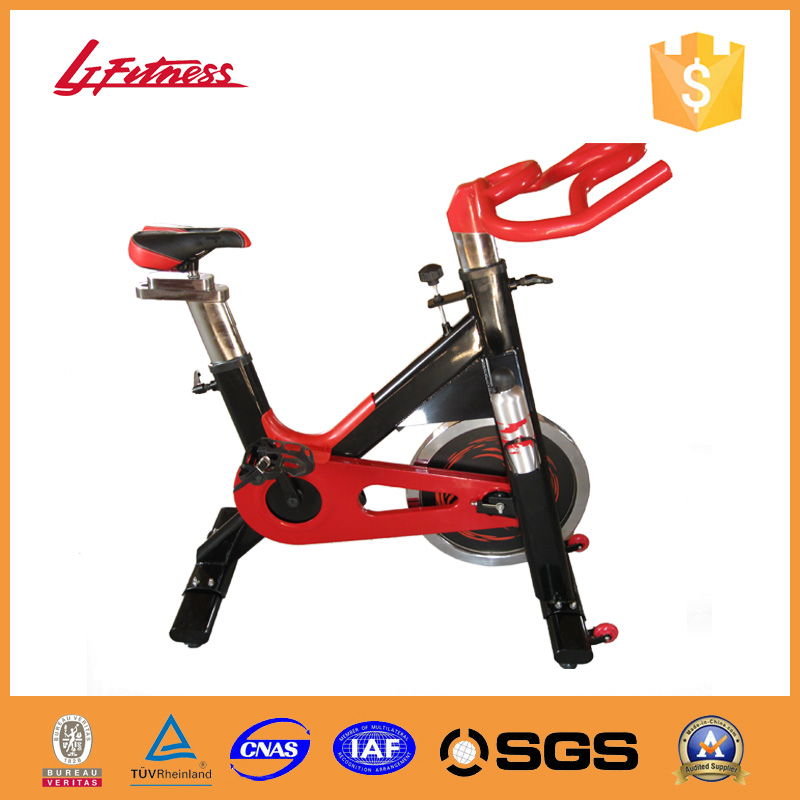 LJ-9609 Gym machine deluxe commercial spin bike gym equipment pictures