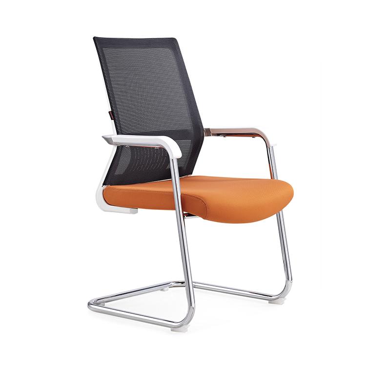 604-3C caliente-venta silla de malla de PP de 25 1,8mm Tubo con doble casquillo Oficina silla moderna