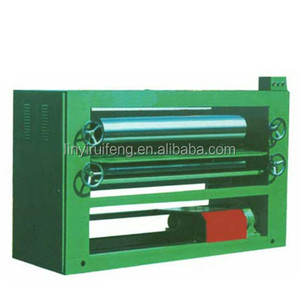 wood veneer glue spreader/plywood veneer machine