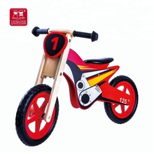Children outdoor play game wooden kids balance bike without pedals