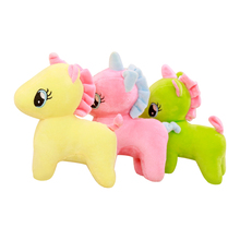 Rosa <span class=keywords><strong>Peluche</strong></span> Ripiene Fluffy <span class=keywords><strong>Unicorn</strong></span> Animale Regalo Ideale