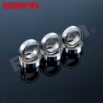 2 Pcs Premium 6000 ZZ ABEC3 Metal Shields Deep Groove Ball Bearing 10x26x8mm
