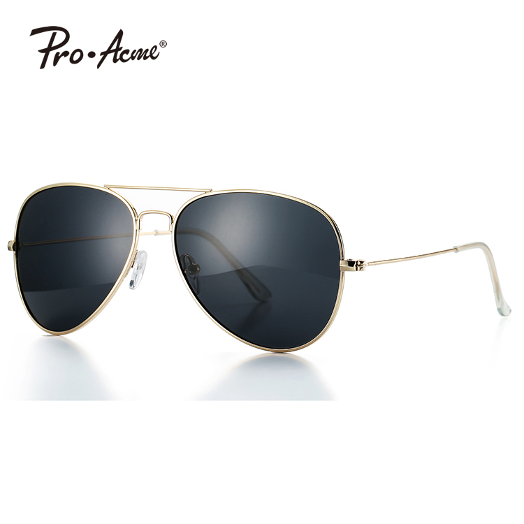 Pro Acme Classic Polarized Aviator Sunglasses for Men and Women UV400 Protection PA1038