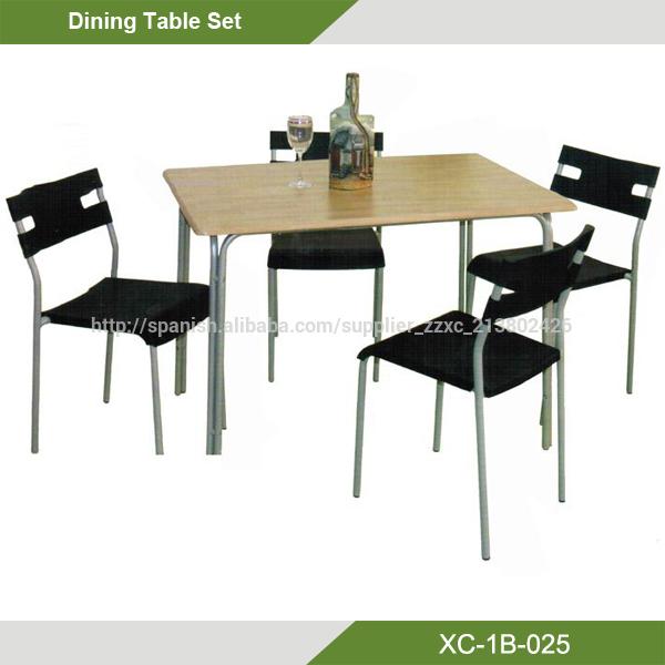 oferta Barato Conjunto de Mesa de Comedor con 4 sillas-Sets para ...