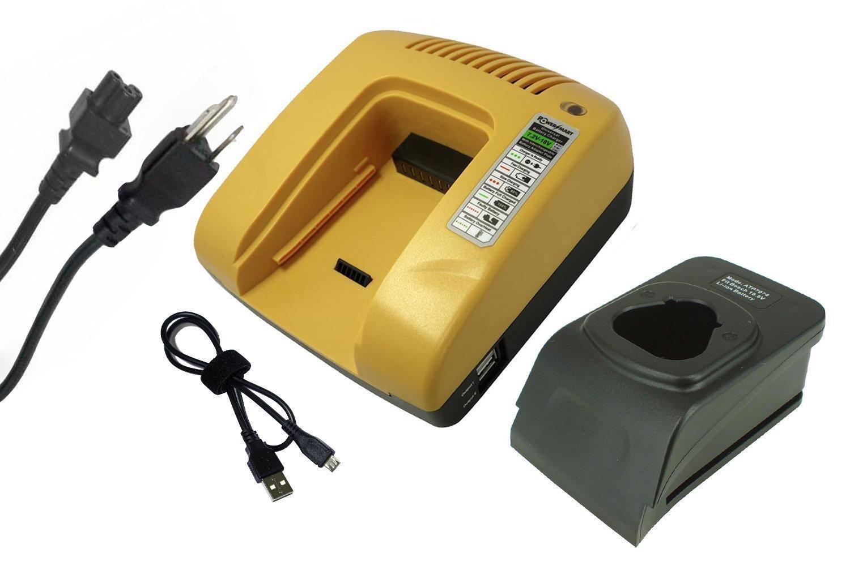 Lithium-ion Battery Charger For Bosch GSR 10.8 V-LIQ, GSR 10.8-2-LI, GSR 10.8-LI Power Tools Battery (Yellow)