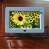 full function new style frame 7 inch digital photo frame multifunction