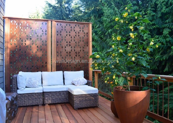 Outdoor Screen Divider Used For Park Garden Wall Decoration