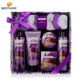ODM OEM natural romantic elegance woman paper box aromatic spa bath gift set