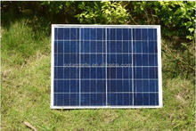 50wp Polycrystalline Solar Module by Poly solar cell factory cheap selling 12V solar panel for home use