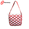 wholesale Cheap girl canvas round dot crossbody bag with flap