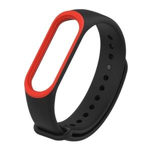 Colorful Silicone Wrist Strap Watch Band for Xiaomi Mi Band 3 & Mi Band 4