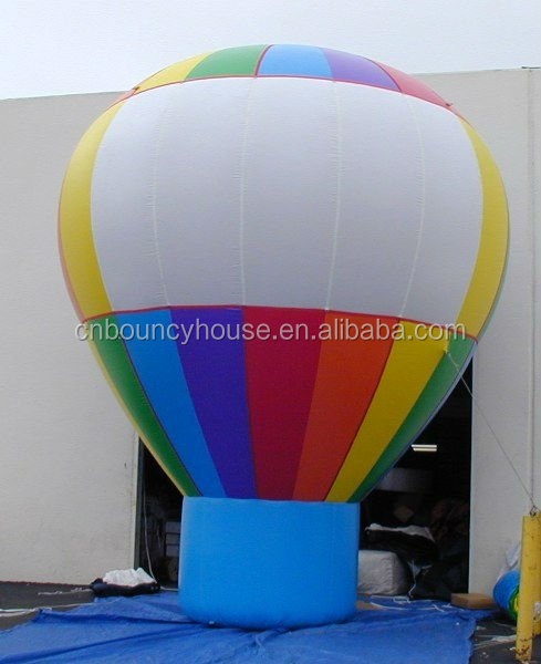 ODM /OEM Advertising Inflatables Large Ground Balloons rip-stop nylon material