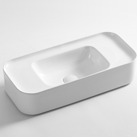New arrival ceramic big wash basin luxury wash basins and sinks bathroom artistic sink basin