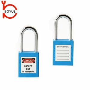 Safety Lockout ABS Safety Padlock with Insulation Shackle Keyed Alike padlock