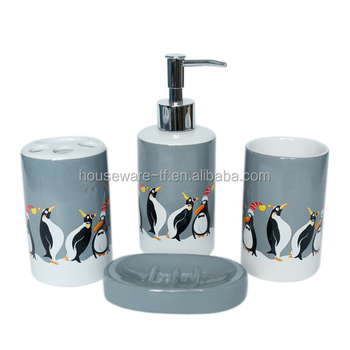 Penguin Type Accessories Chinese Bathroom Accessories Buy