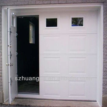 Insulation Electric Sectional Garage Doors Steel Doors Buy Pass