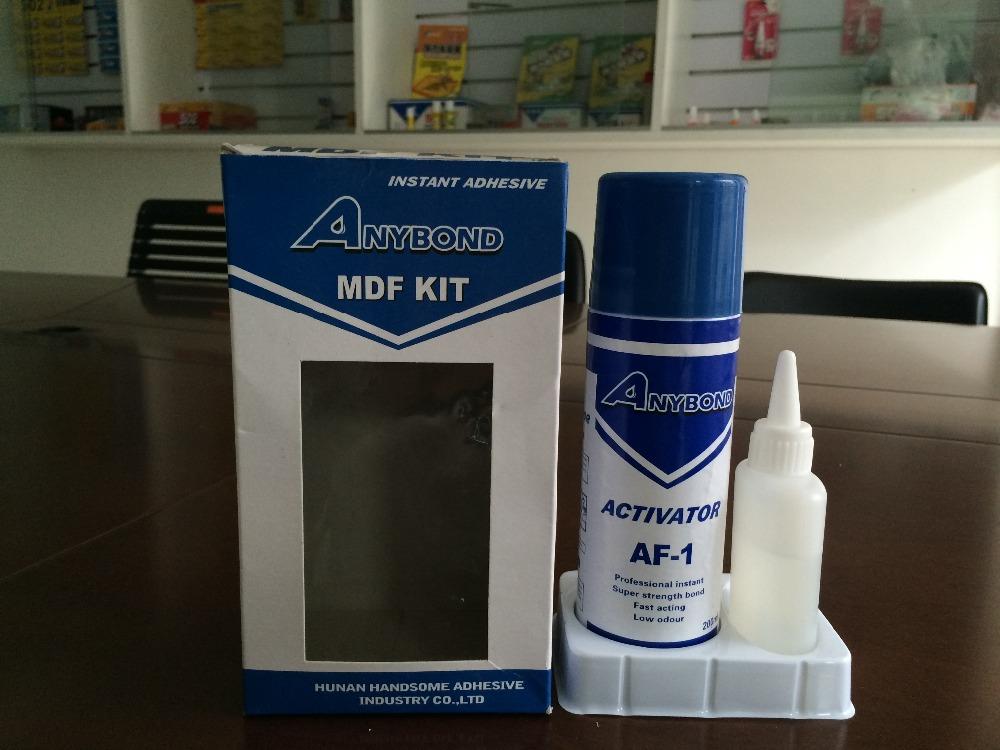 Mdf Adhesive Kit Including 1500cps Mdf Cyanoacrylate Glue