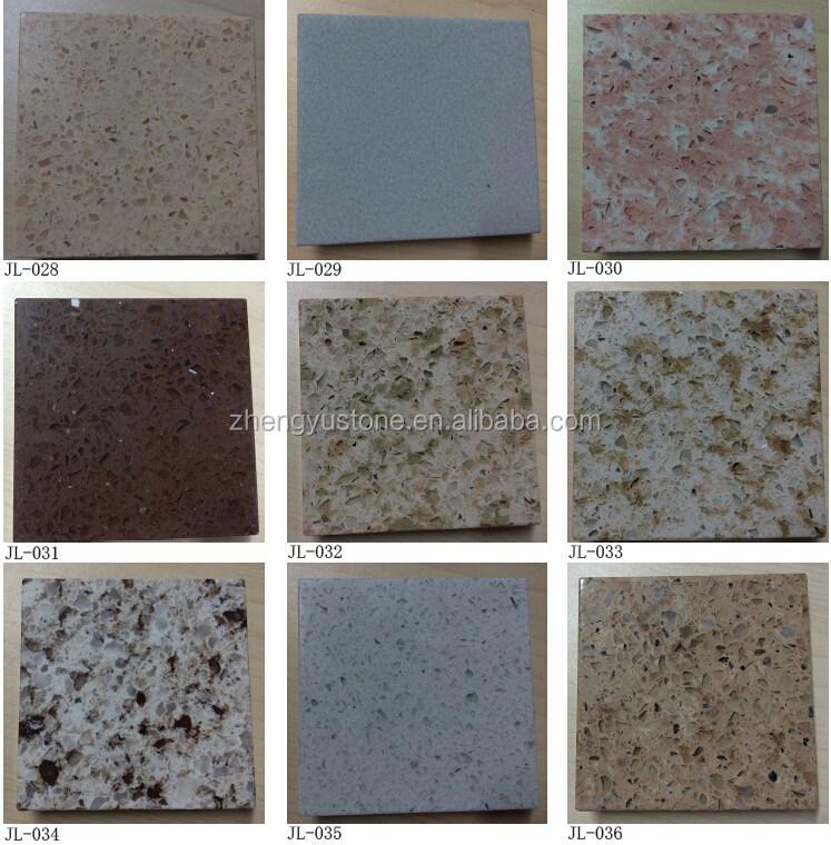 Barato rojo cuarzo piedra encimera de cuarzo cocina piso for Encimeras de piedra precios