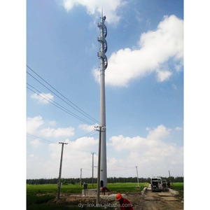 Customized design steel monopole telecommunication antenna tower