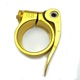 China Suppliers Hot sales alloy aluminum seat post clamp lever seat tube clip
