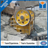 Professional manufacture Jaw crusher quarry mining equipment for stone