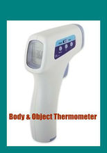 Long Term Warranty 0.5s Instant Reading Non Contact Object & Body Temperature Scan Digital Thermometer