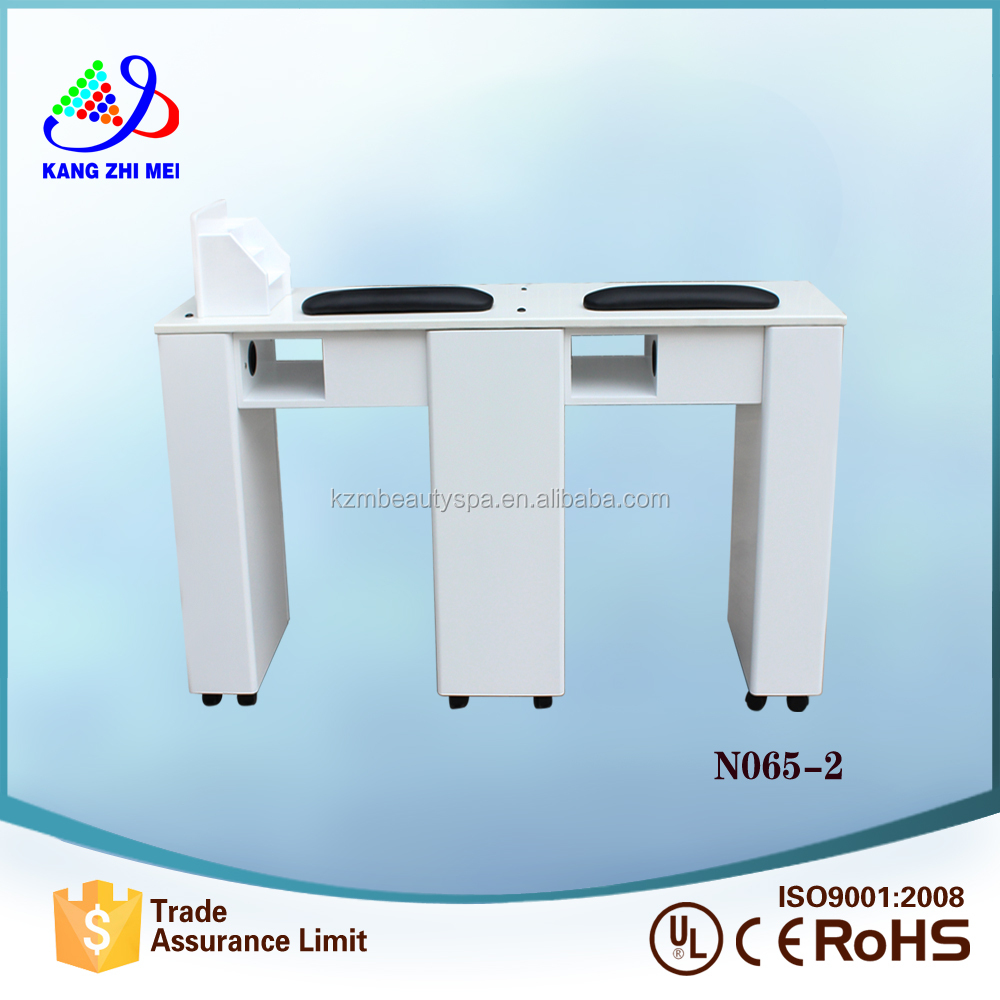 Kangzhimei wholesale double beauty salon nail table N065-2