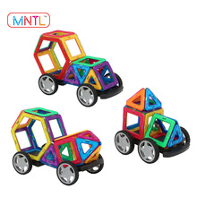 MNTL 78 Piece Magnetic Blocks Building Toys For Boys Girls, Magnet Tiles Kits For Kids