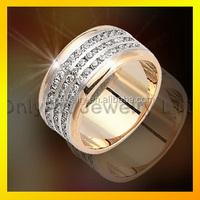 Micro Pave AAA Zircon Fashion men 18K Gold Plated Copper Bracelet