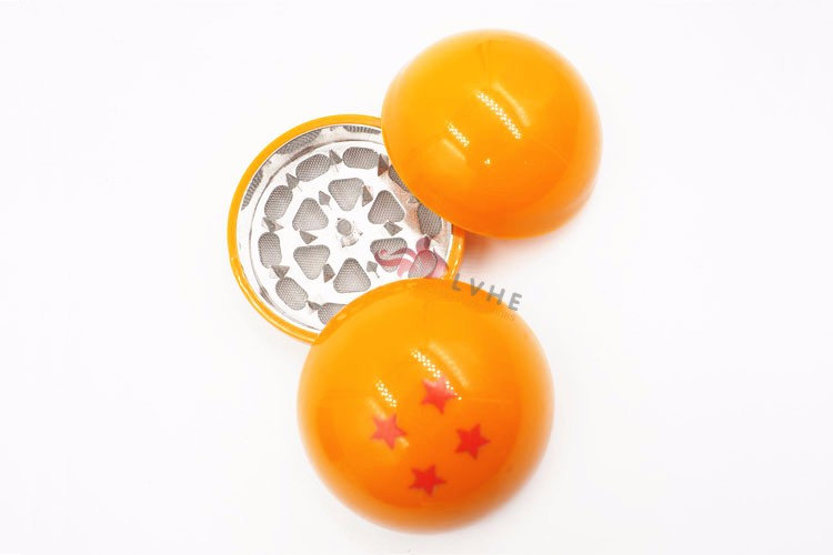 T162GM LVHE Novelty Universal New Four Stars 3 Layers Dragon Ball Wholesale Herb Grinder