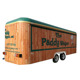 multifunction hot dog ice cream van fast food trailer truck