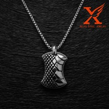2016 New Product Quantum Technology Stainless Steel Aromatherapy Locket Pendant