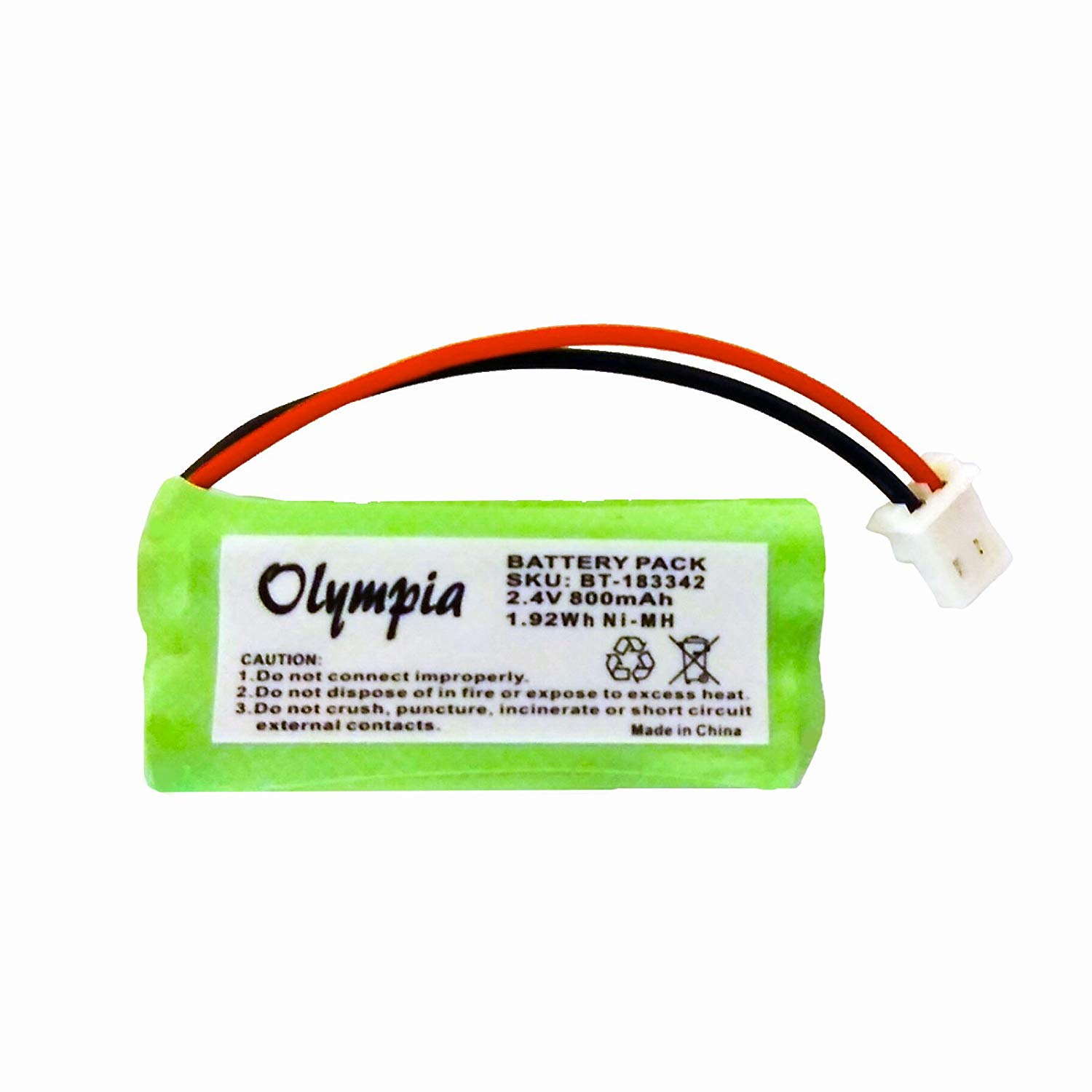 HQRP 3-Pack Battery for AT/&T//Lucent 80-5848-00-00 8058480000 27910 00102 SB67108 TL74258 TL74308 TL74358 TL74408 TL74458 TL77008 TL72108 E5910 E5643 E5643B E5644B E5654B Cordless Phone Coaster