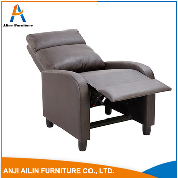 Best Price Big Brown Leather Sofa Relaxing Rocking Chair