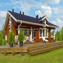 Single Floor Wooden Cabin log house For Sale