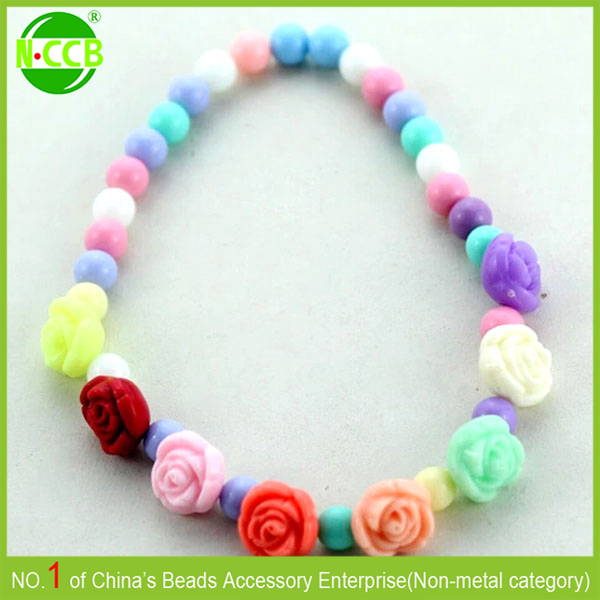 Alibaba website China cute flower shaped best friend kids necklace