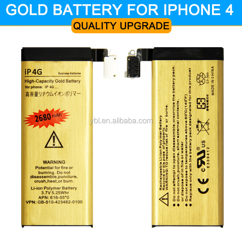 Hot sell ! Original ABV <strong>Gold</strong> High Quality Mobile phone battery for Apple <strong>iphone</strong> 4 iPhone4 <strong>4G</strong> IP-<strong>4G</strong> Battery 2017 New