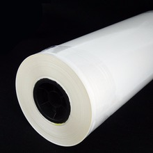 Plastic low temperature hot melt adhesive film for leather adhesive