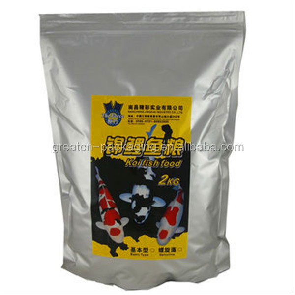 Trade Assurance Supplier For Aluminum Foil Packaging Bag For Fish Food