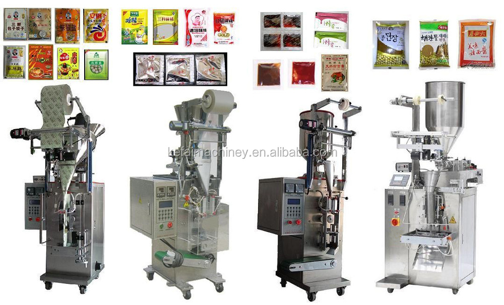 Ginger Garlic Paste Making Machine Packing Machine