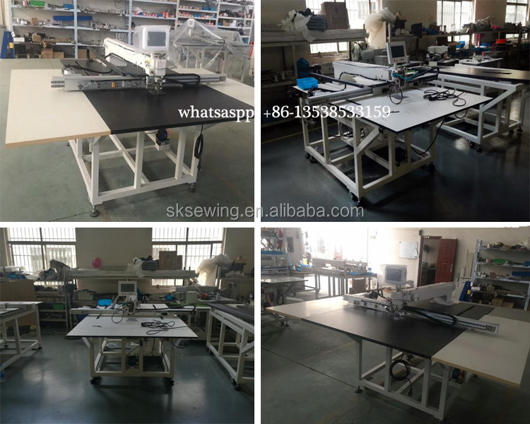 Garment Automatic Computer controlled CNC template sewing machine