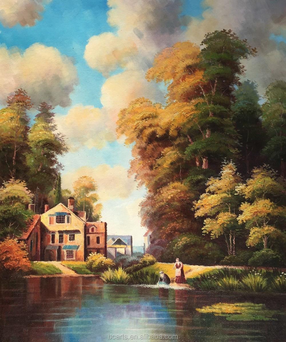 Personnalisé peinture toile style européen peinture à lhuile pour la maison décoration murale pièces