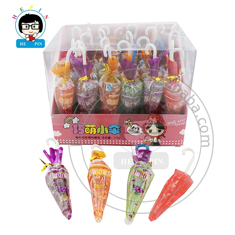Umbrella Shaped Gummy Candy Sweet Jelly Candy Fruity Soft Candy