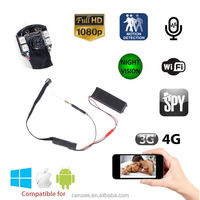 1080P HD IP WIFI Micro Wireless Infrared Night Vision Invisible Spy Mini Hidden Camera Wifi