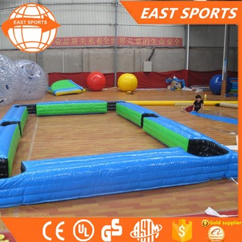 inflatable human pool table/ inflatable billiards table football