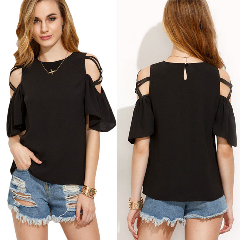 Fashion Black Cold Shoulder Blouse Latest Design Girls Top Sexy Lady Top    Buy Lady Top Latest Design Girls Top Blouse Product on Alibaba com. Fashion Black Cold Shoulder Blouse Latest Design Girls Top Sexy