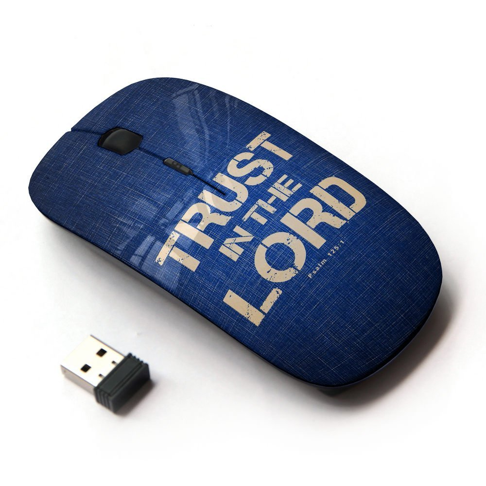 Bible Verse Lord Hope Trust KOOLmouse Optical 2.4G Wireless Computer Mouse